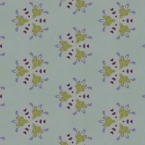 Trefoil in purple