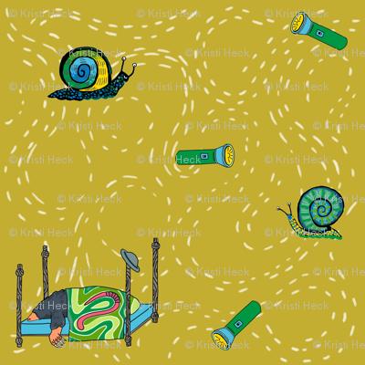 dream mole_ main print yarrow yellow