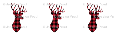 buffalo plaid buck head