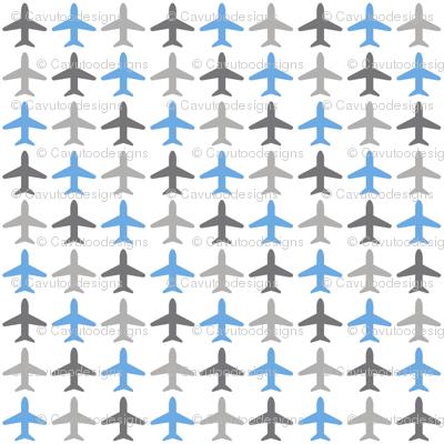 Jets Jets Jets - Gray / White / Blue