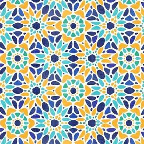 Majolica Floral Mosaic