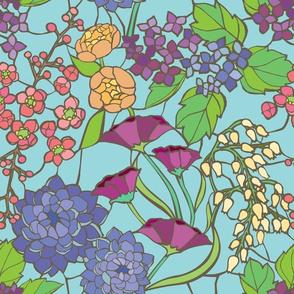 Mosaic Garden - Sky