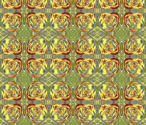 floral_heart_new_Aza fabric by designs_by_phyllis_lepore on Spoonflower - custom fabric