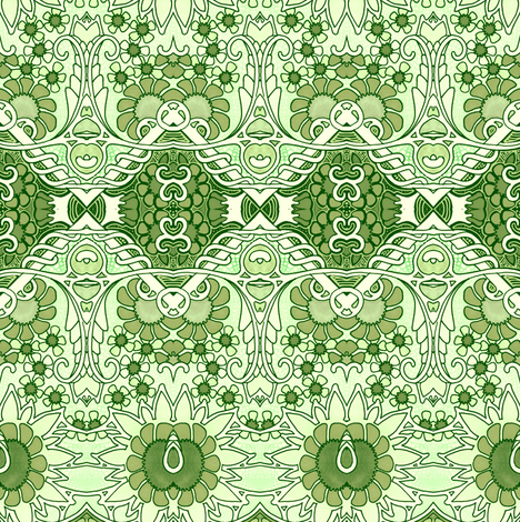 Always Greener on the Other Side fabric by edsel2084 on Spoonflower - custom fabric