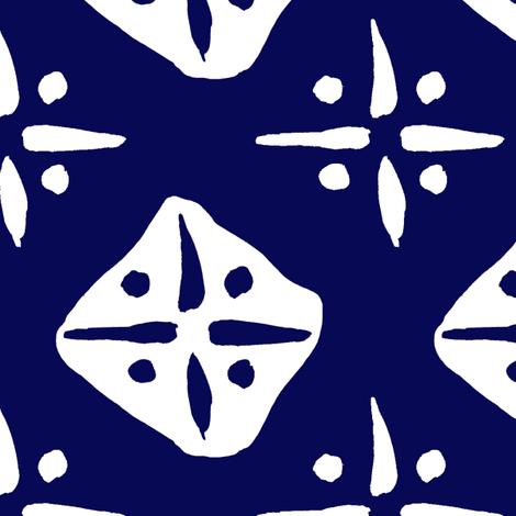 cestlaviv_indigostartest_bre fabric by @vivsbeautifulmess on Spoonflower - custom fabric