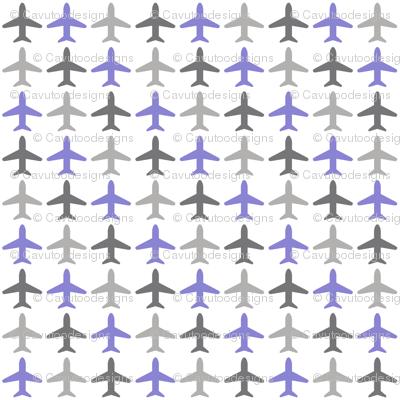 Jets Jets Jets - Gray / Purple / White