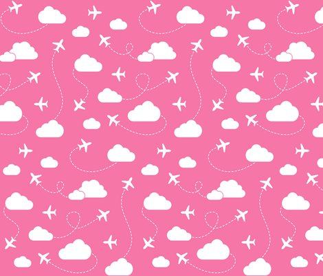 Rjets_in_clouds_white_on_pink_shop_preview