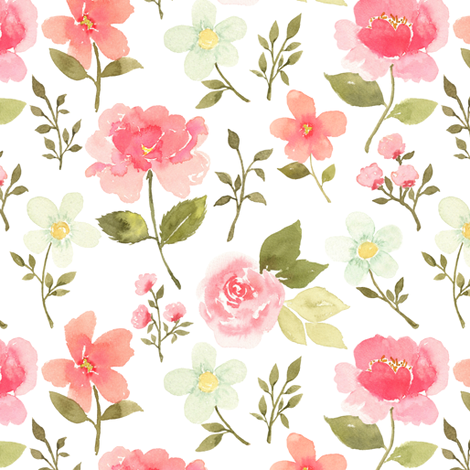 Summer breeze fabric by mintpeony on Spoonflower - custom fabric