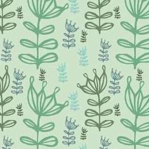 pattern-spring-green