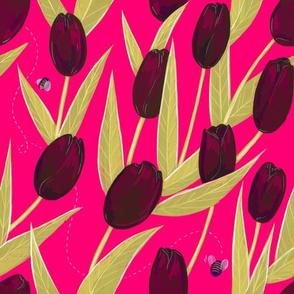 Tulipes Noires