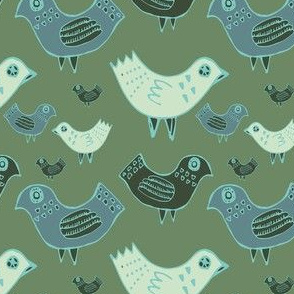 pattern-spring-green-birds