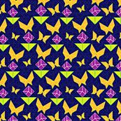garden tangram blue