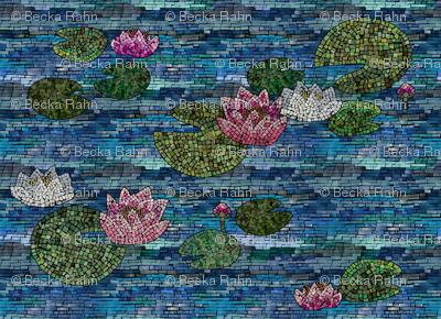 WaterliliesMosaic
