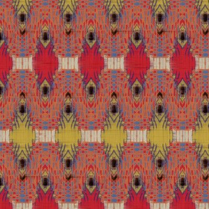 Taj Weave (Red)