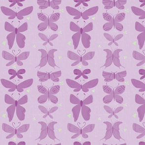 Butterflies on Purple