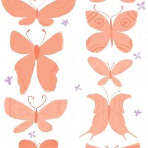 Tangerine Butterflies