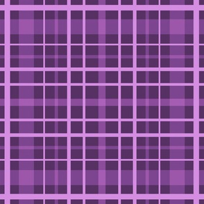 Purple plaid cell .