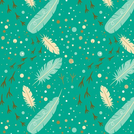 Feather_feet_on_turq_150dpi_final_shop_preview