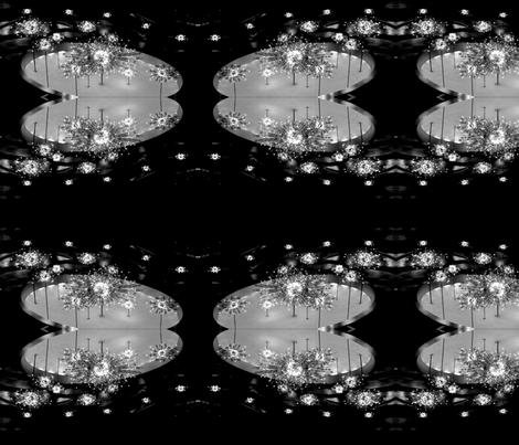 Metropolitan Opera Chandelier fabric by bananana on Spoonflower - custom fabric