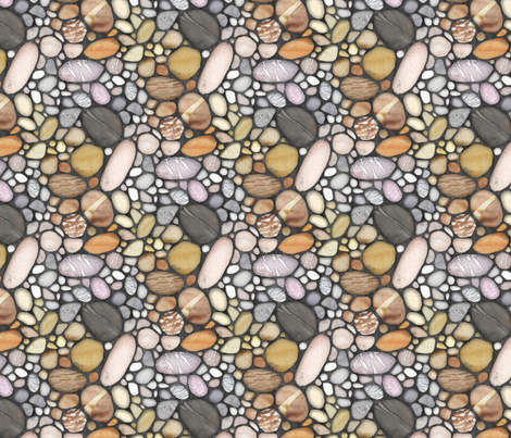 Riverstone_Mosaic fabric by j9design on Spoonflower - custom fabric