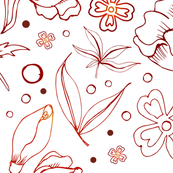 Foliage Line Art
