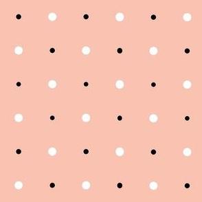 Summer Picnic - Polka Dot - Peach