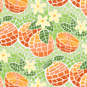 Orange Blossom Mosaic