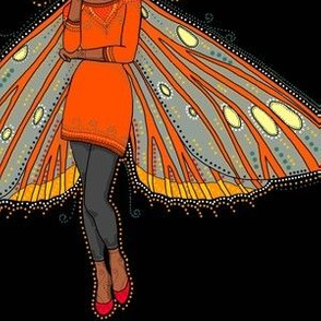 Regal Moth fairy