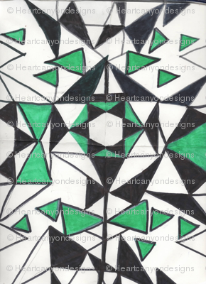 emerald geodesic