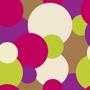textured circles *