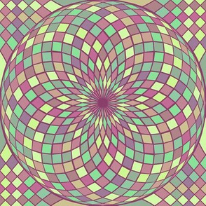 geodesic sphere - alexandrite