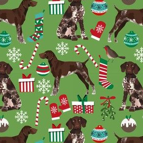 german shorthaired pointer christmas dog fabric dogs and holiday xmas fabric
