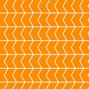 Chevron // orange (90)