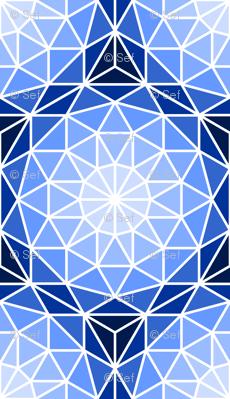 06176719 : SC3 V dome : blue sapphire