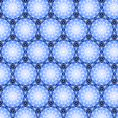 06176719 : SC3 V dome : blue sapphire fabric by sef on Spoonflower - custom fabric