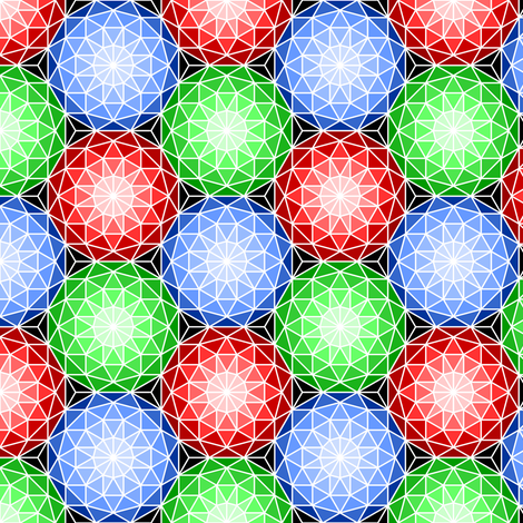 06176722 : SC3 V dome 3 : ruby emerald sapphire fabric by sef on Spoonflower - custom fabric
