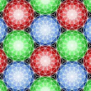 06176722 : SC3 V dome 3 : ruby emerald sapphire