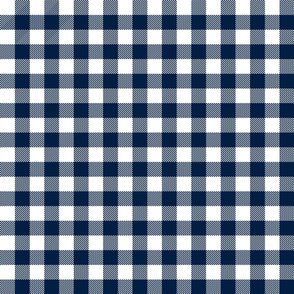 buffalo plaid // buffalo check fabric buffalo check tartan gingham plaid trend - navy