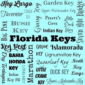 Florida Keys, light blue