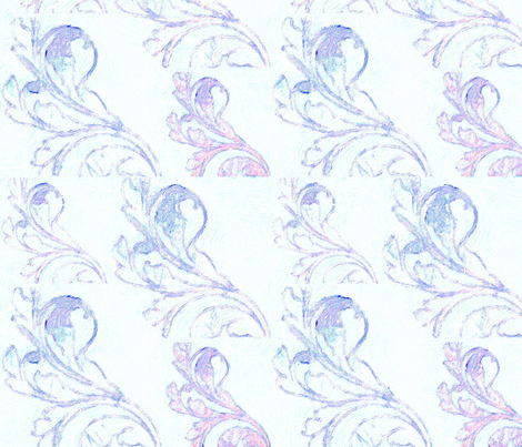Paisley in Blue fabric by desertattitude on Spoonflower - custom fabric