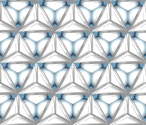 Arctic-lights fabric by designbyraly on Spoonflower - custom fabric