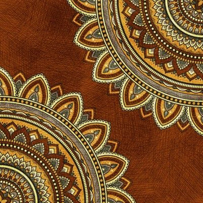 Golden Mandala - Rust