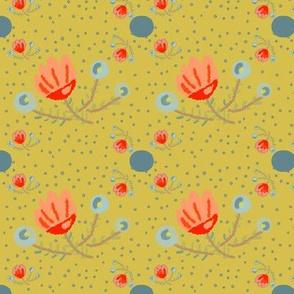 Delicate Petals - yellow