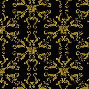 golden tangrams