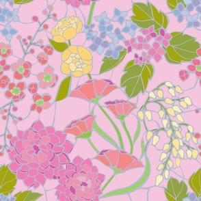 Mosaic Garden - Rose Quartz