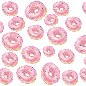 Pink Sprinkled Donuts For Days