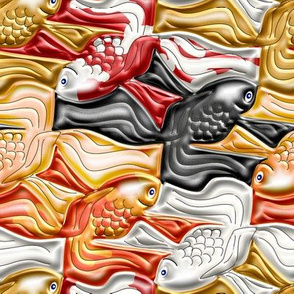 Fancy Goldfish Tessellation