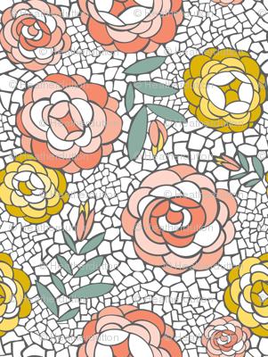 Desert Blossom - Mosaic Floral