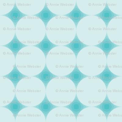 Blue Geodesic Lines
