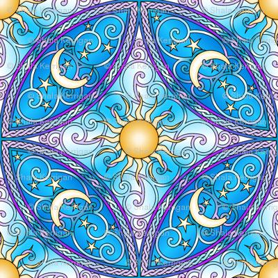 Sun and Moon Mandalas